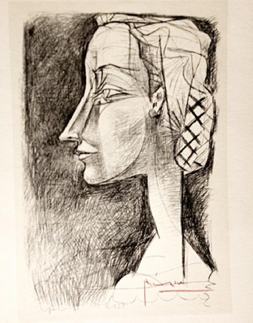 Pablo Picasso Signed Lithograph 255