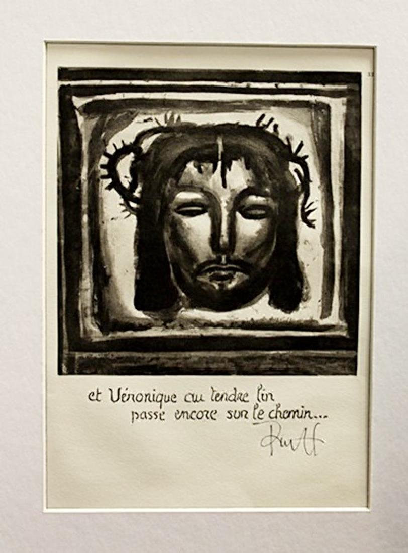 Georges Rouault Signed Lithograph 23
