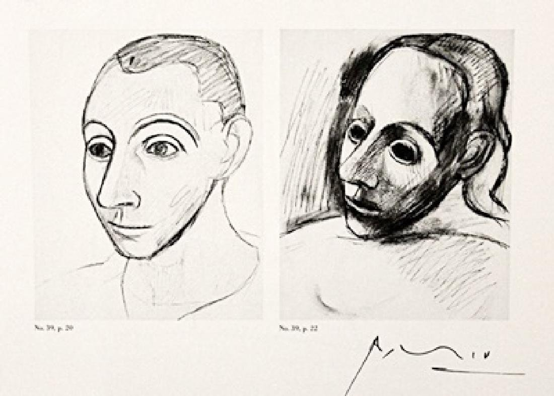 Pablo Picasso Signed Lithograph 294