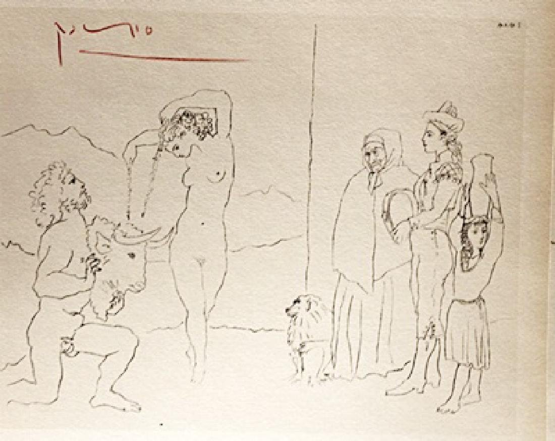 Pablo Picasso Signed Lithograph 236