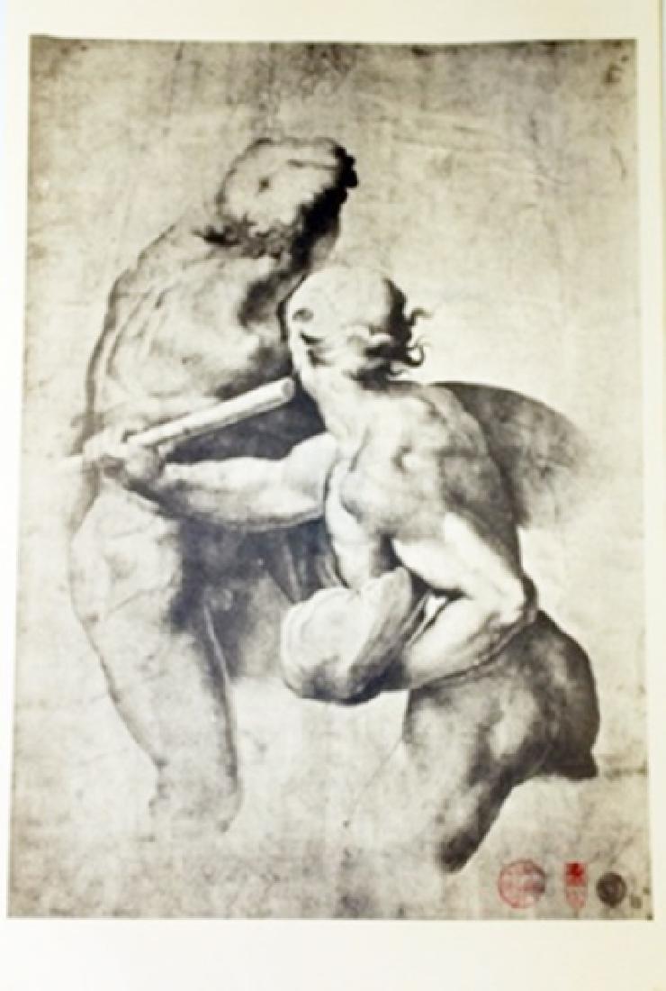 """""Studi di figure nude"" Museum Lithograph"
