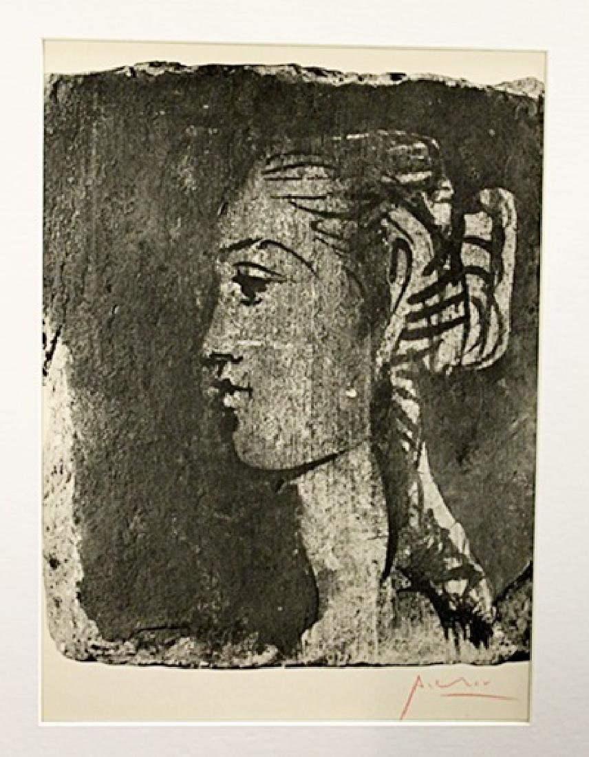 Pablo Picasso Signed Lithograph 109