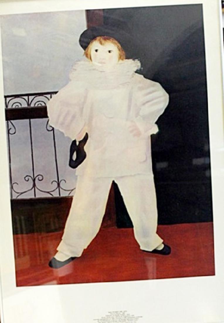 """Lithograph """"Paul En Pierrot - Pablo Picasso"""