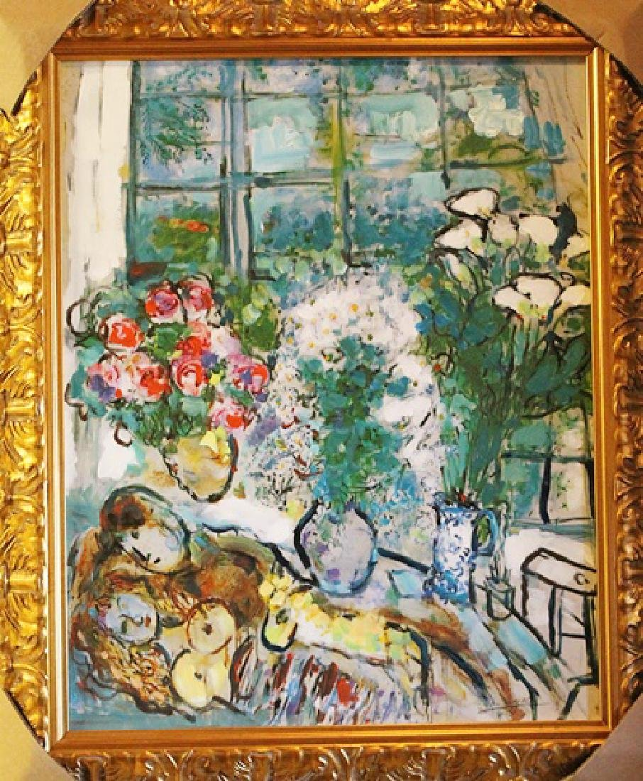 Framed Glicee Marc Chagall - The White Widow