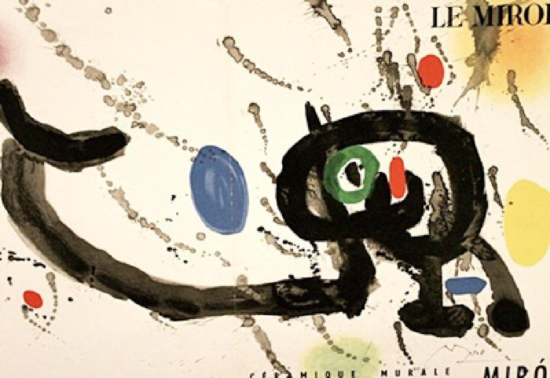 Joan Miro Signed Lithograph 406 - 2