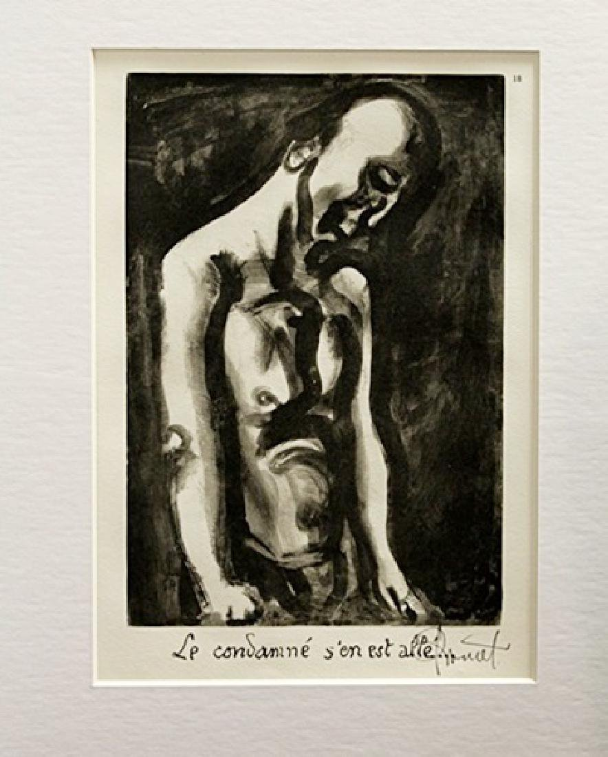 Georges Rouault Signed Lithograph 84