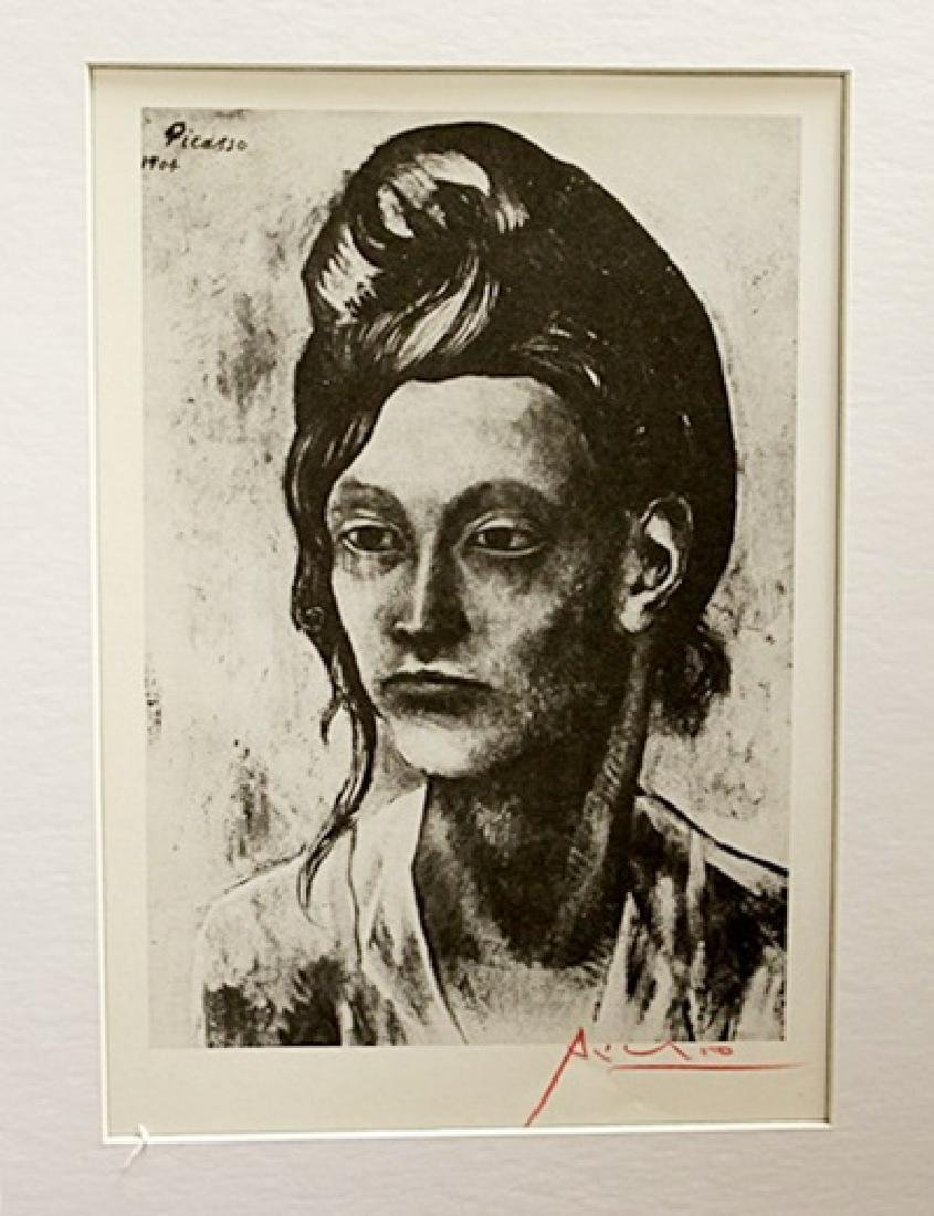 Pablo Picasso Signed Lithograph 121