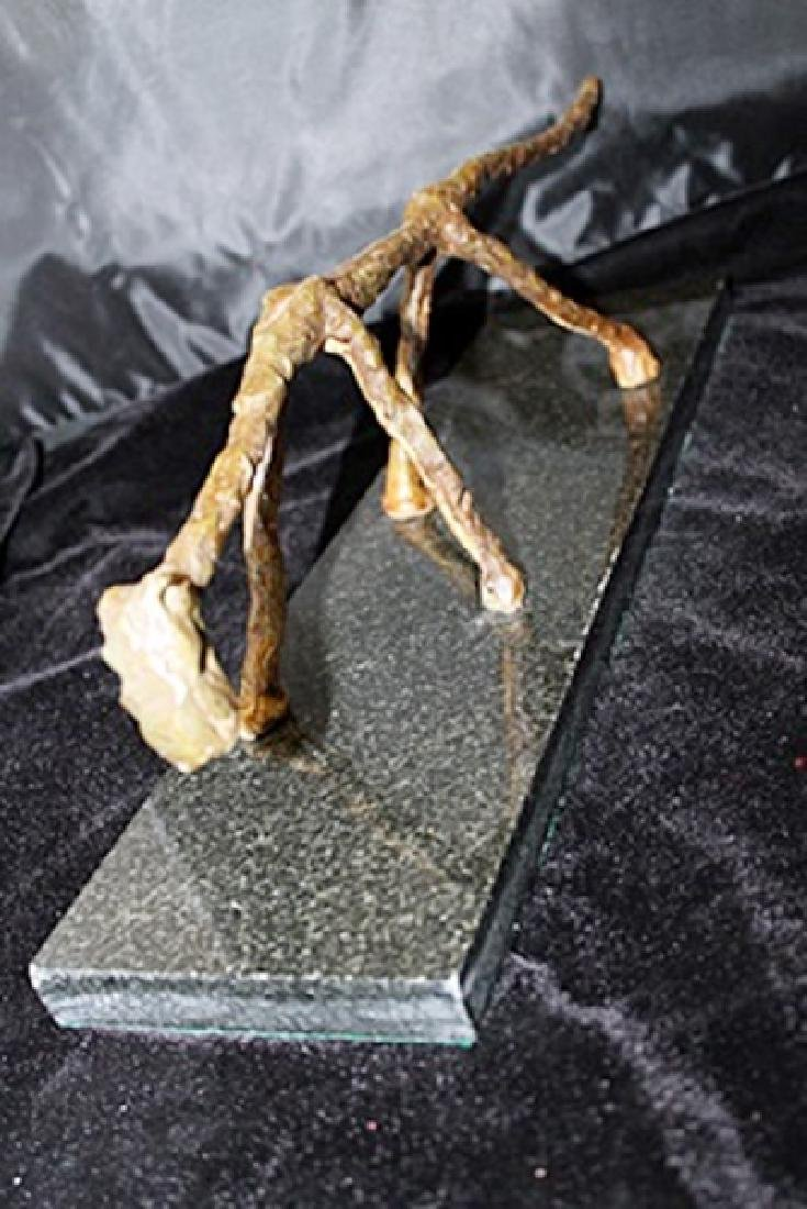 Signed Limited Edition Bronze Giacometti - 2