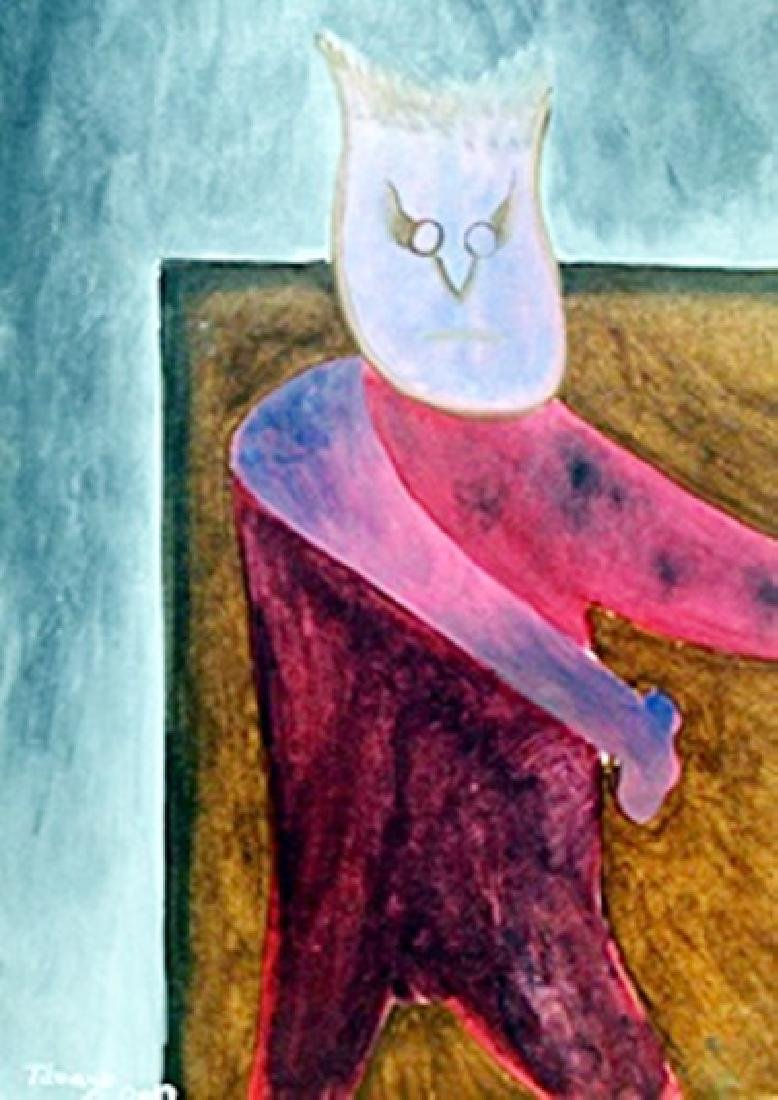 Devil - Oil Painting on Paper - Rufino Tamayo