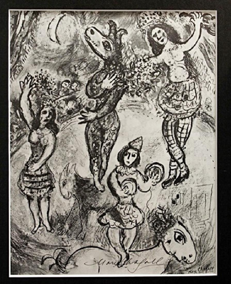 Marc Chagall Signed Lithograph 82