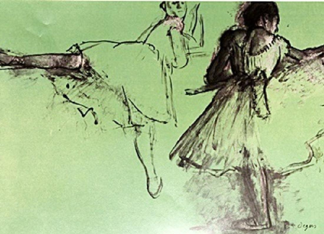 Edgar Degas Color Lithograph Drawing - 2