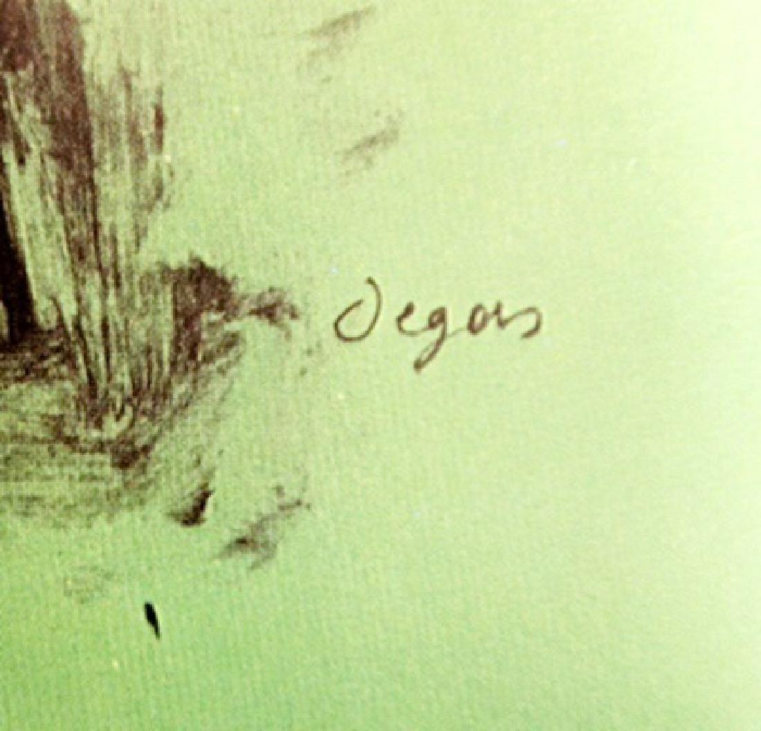 Edgar Degas Color Lithograph Drawing - 3