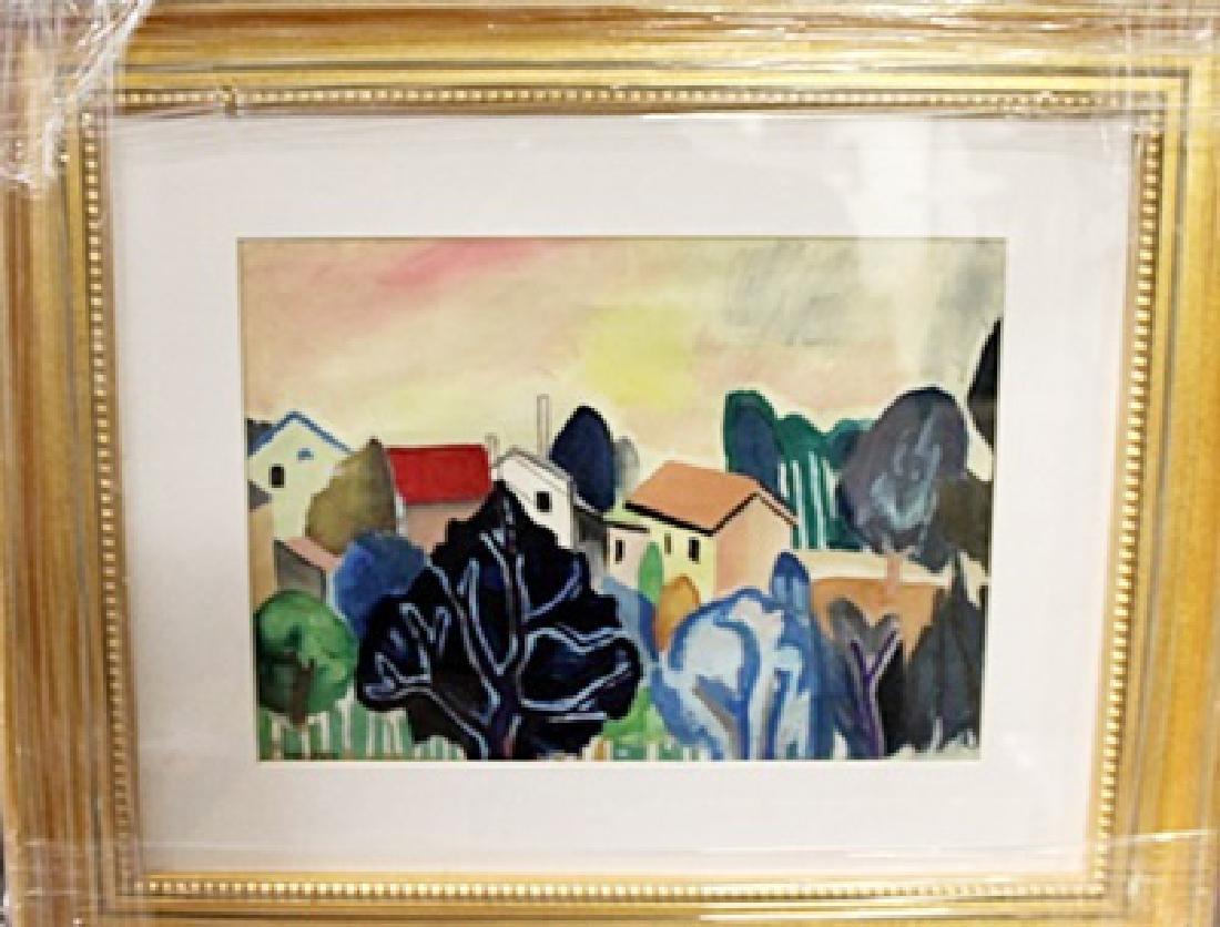 Jean Dufy - Watercolor on paper