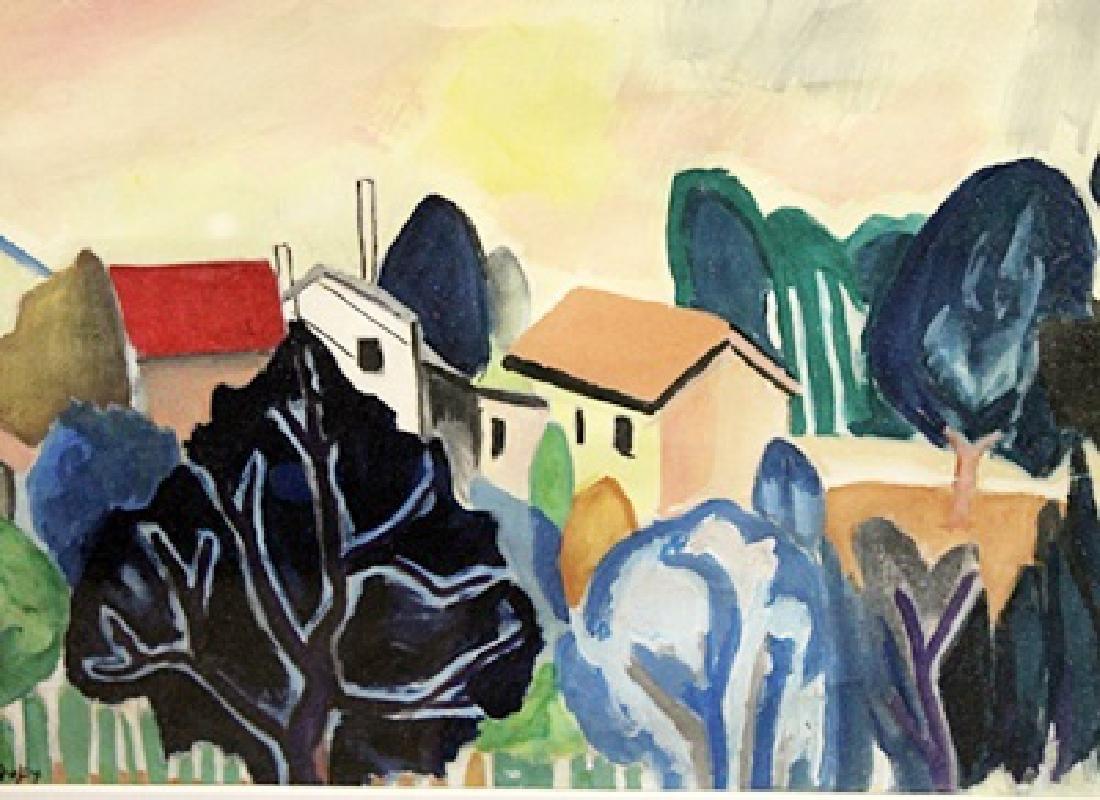 Jean Dufy - Watercolor on paper - 2