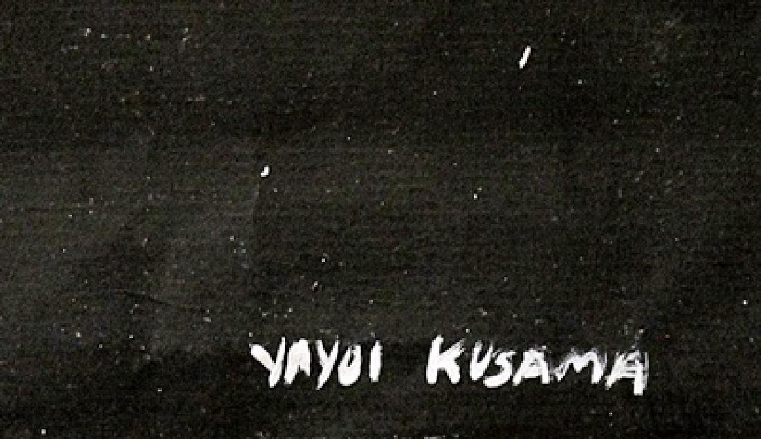 Universe - Yayoi Kusama - Oil On Paper - 2