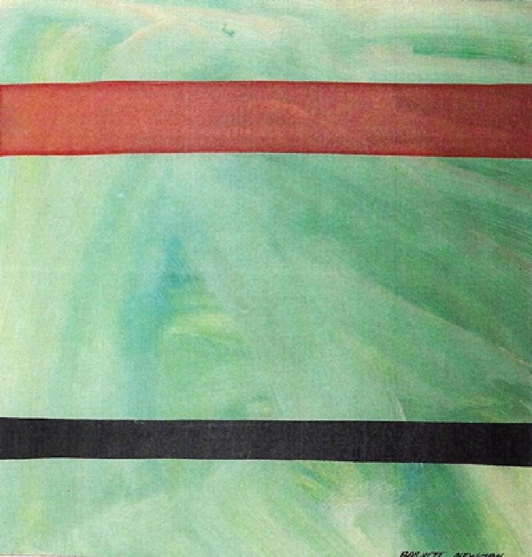 Barnett Newman - Oil On Paper