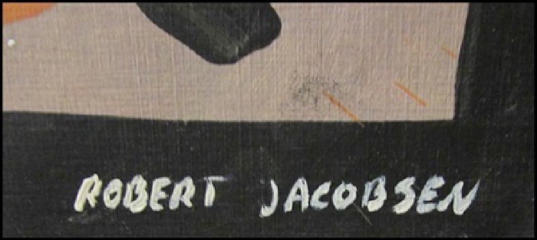 Robert Jacobsen - Oil On Paper - 2