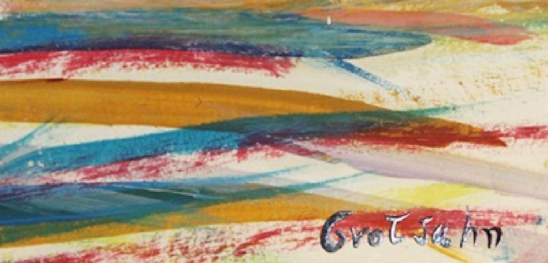 The River - Mark Grotjahn - Oil On Paper - 3