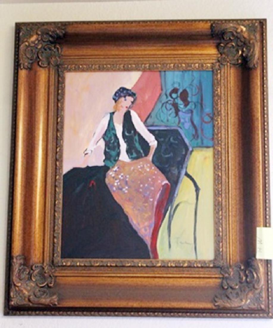 Oil on Canvas Tarkay