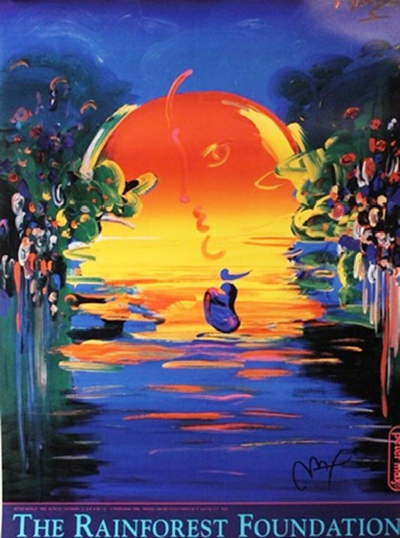 Peter Max Signed Lithograph 148P