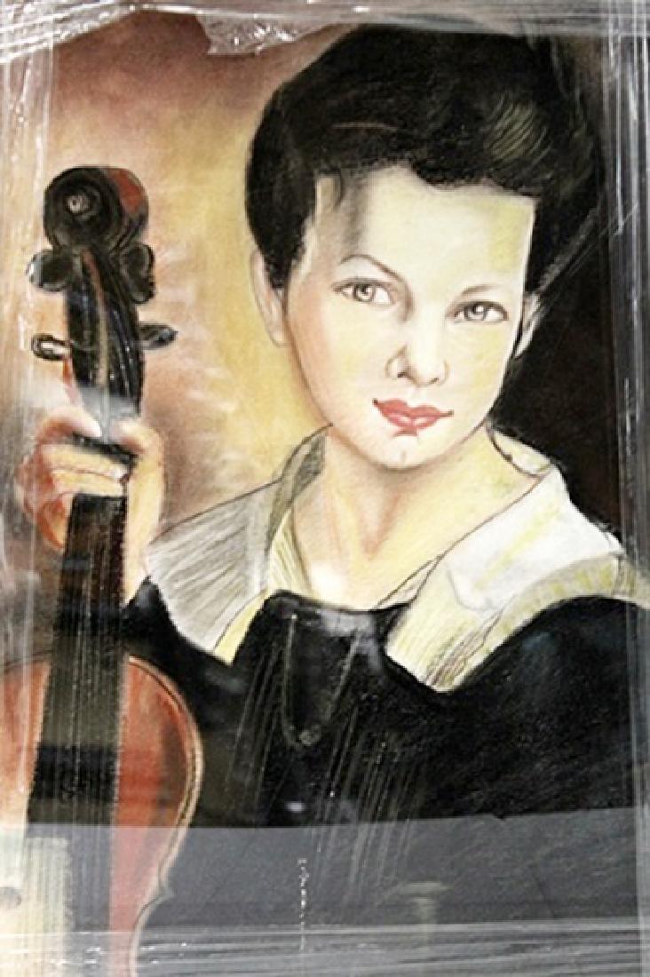 John Singer Sargent - Leonel - Pastel on paper - 2