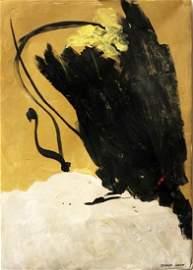 Douglas Swan - Oil On Paper