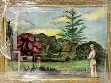 Eugene Boudin - Pastel on paper