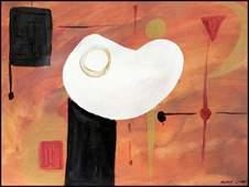 Egg - Modest Cuixart - Oil On Paper