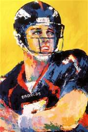 John Elway - LeRoy Neiman - Double Signed Lithograph