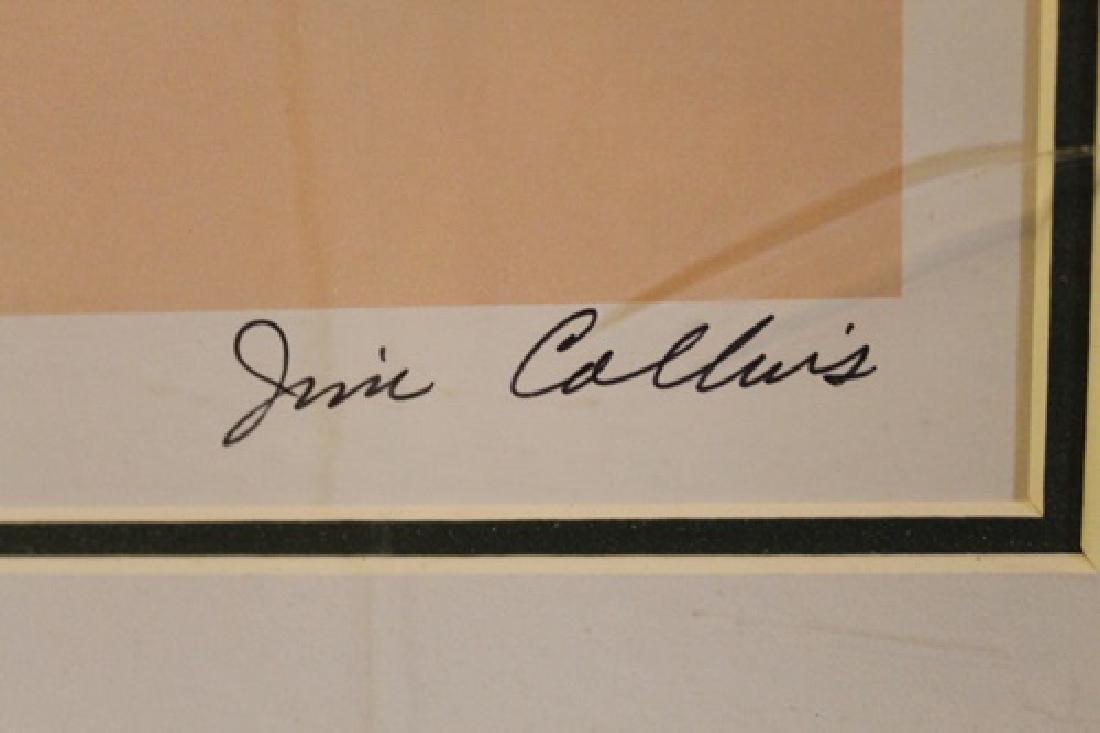 "Framed Lithograph ""Hummingbirds"" - Jim Collins - 2"