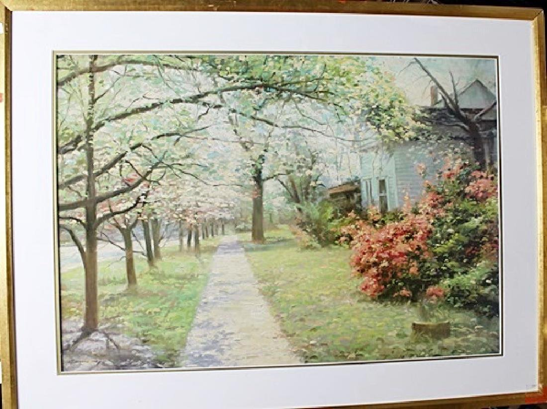 "Framed Limited Edition ""Georgian Way"" Richard Earl"