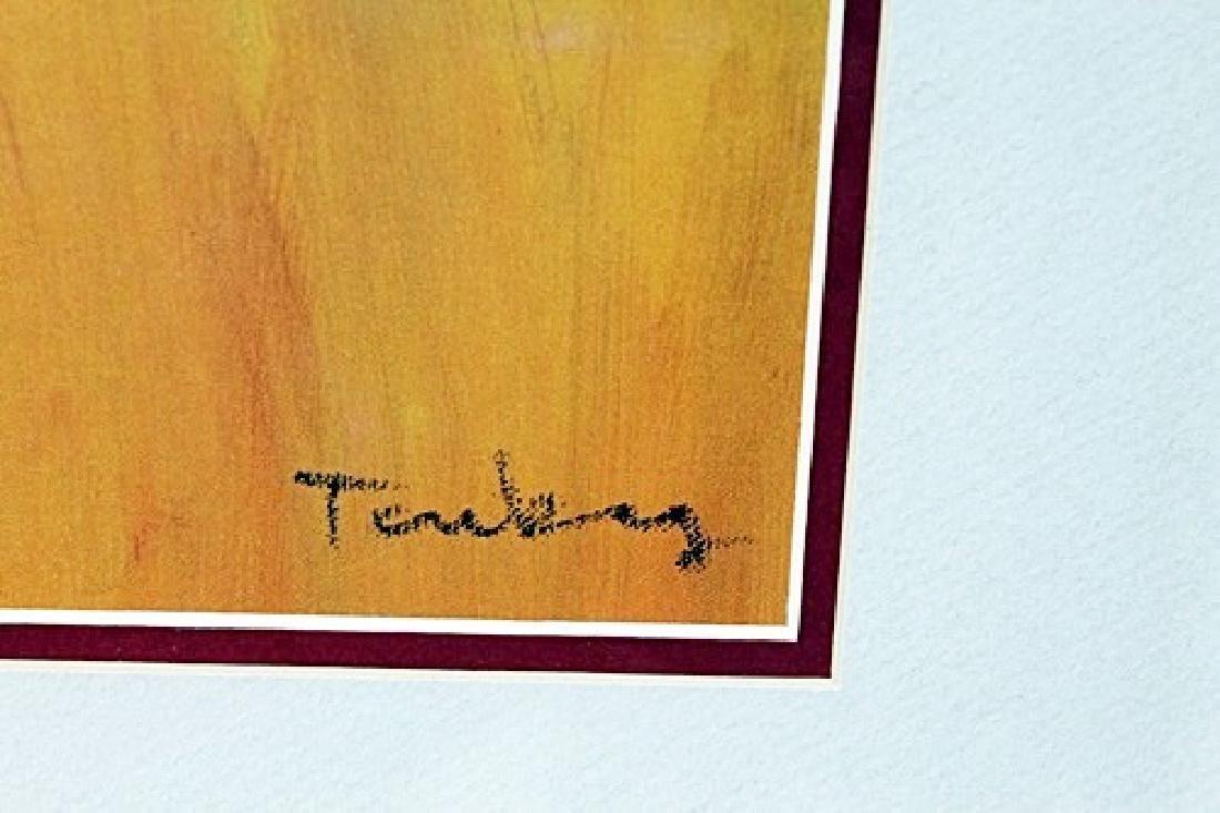 Framed Lithograph Tarkay - 2