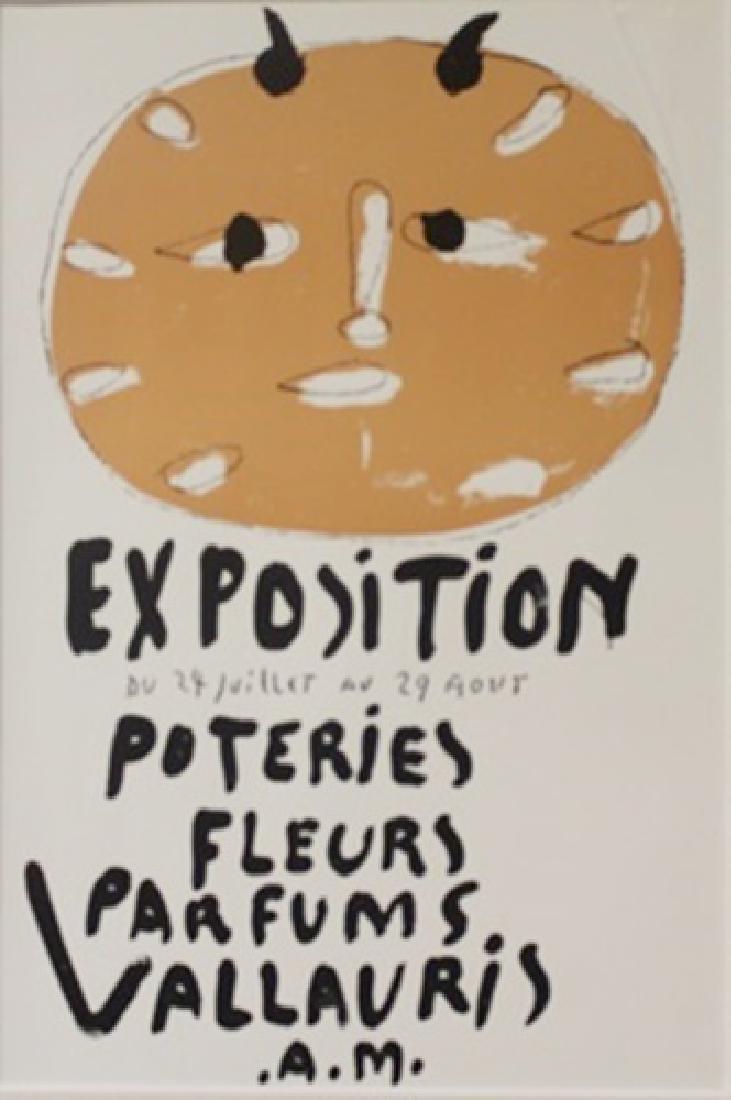 Exposition Du 24 Juillet Au 29Aout lithograph