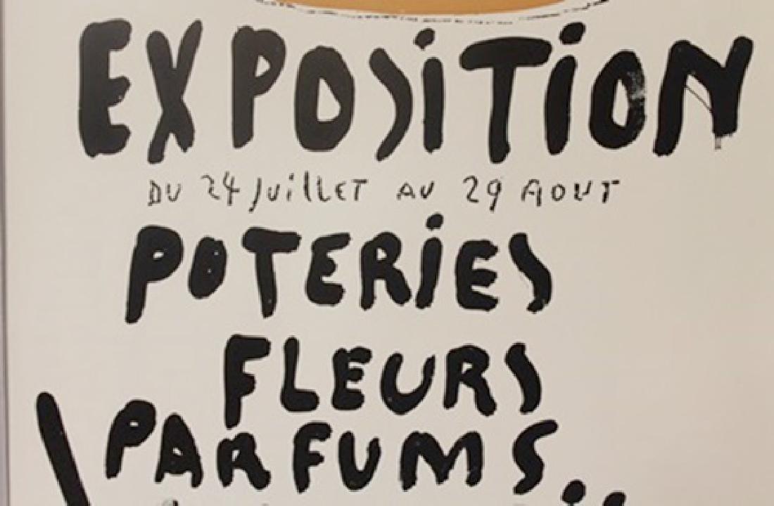 Exposition Du 24 Juillet Au 29Aout lithograph - 2