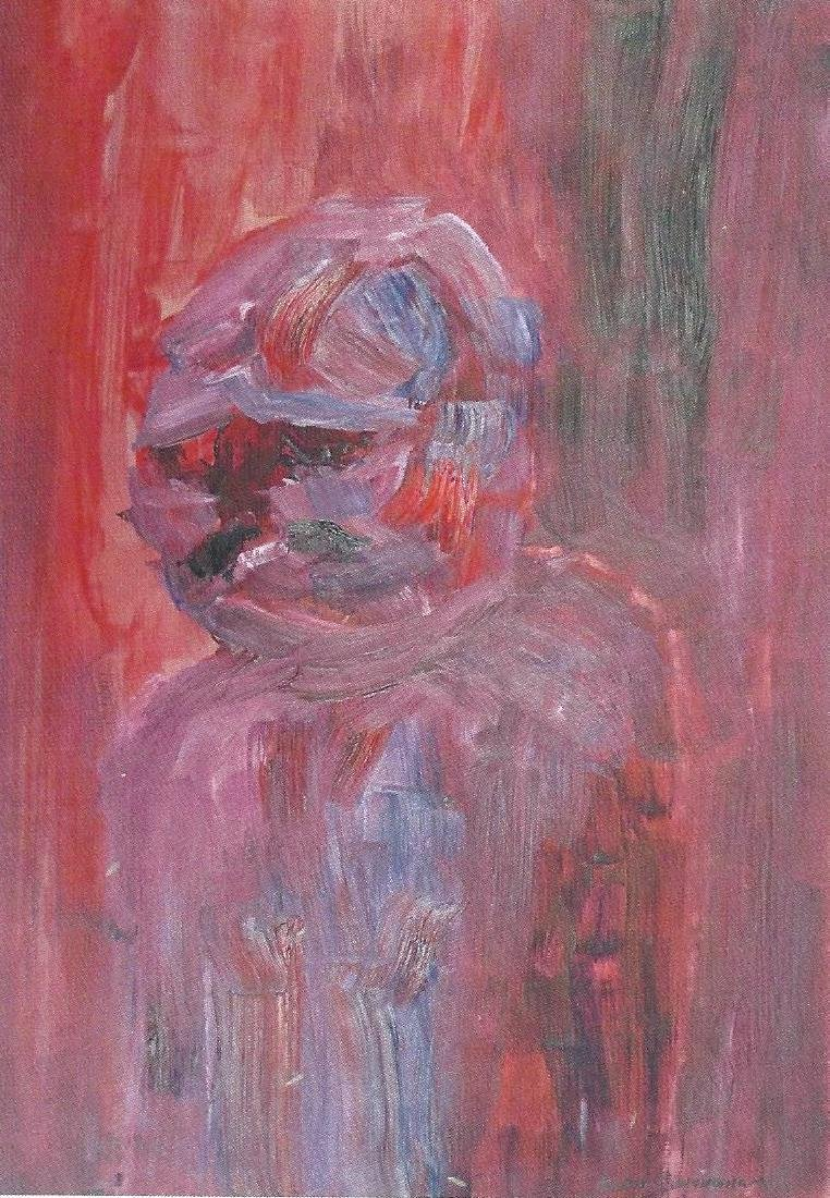 Penumbra - Keith Cunningham - Oil On Paper