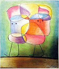 Paul Klee - Siblings III