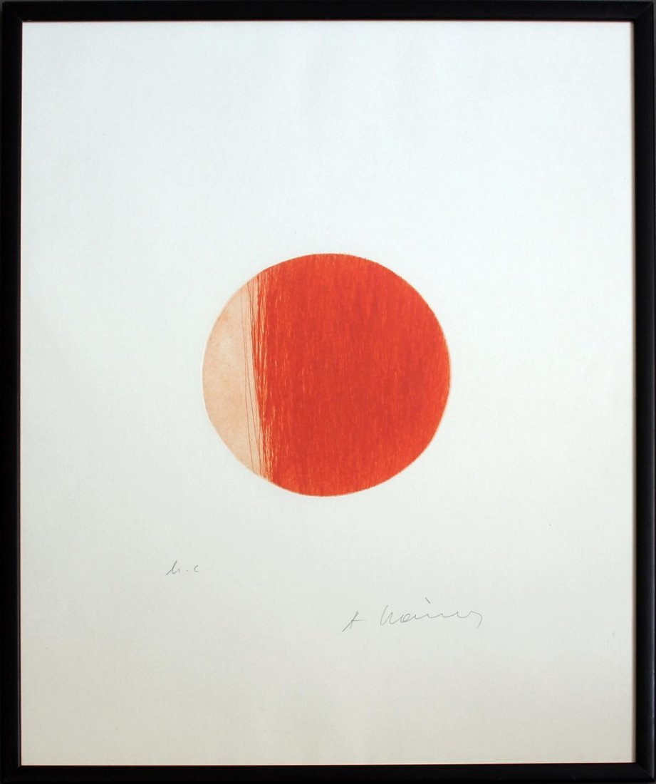 """Arnulf Rainer - """"Roter Planet"""""""