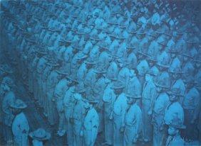 """Gottfried Helnwein - """"Soldaten"""""""