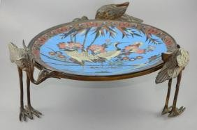 19th century French centerpiece made of Bronze and
