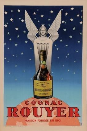 "Original Vintage Alcohol French Poster for ""Cognac"