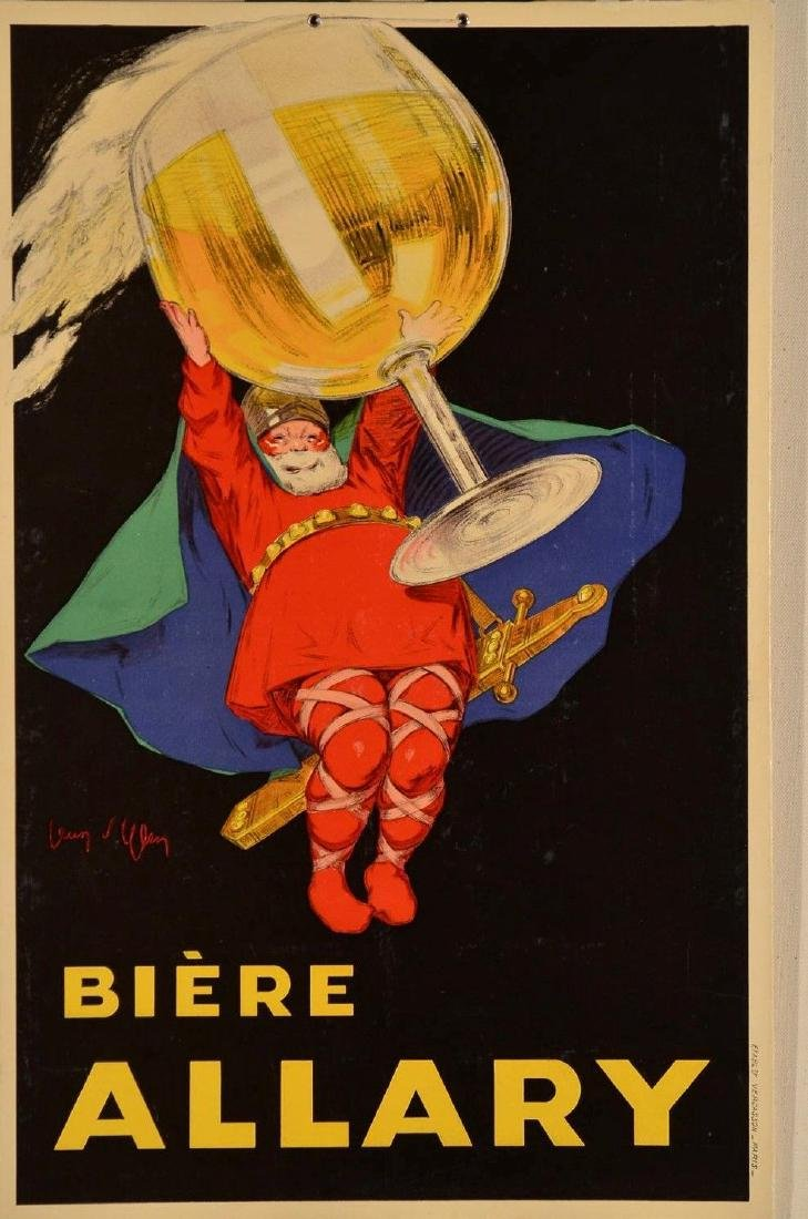 "Alcoholic Drink Poster ""Biere ALLARY"" by Jean d'Ylen"