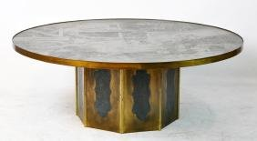 "Philip & Kelvin Laverne Large ""Chan"" Coffee Table"