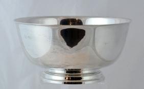 Tiffany & Co. Revere Sterling Pedestal Bowl