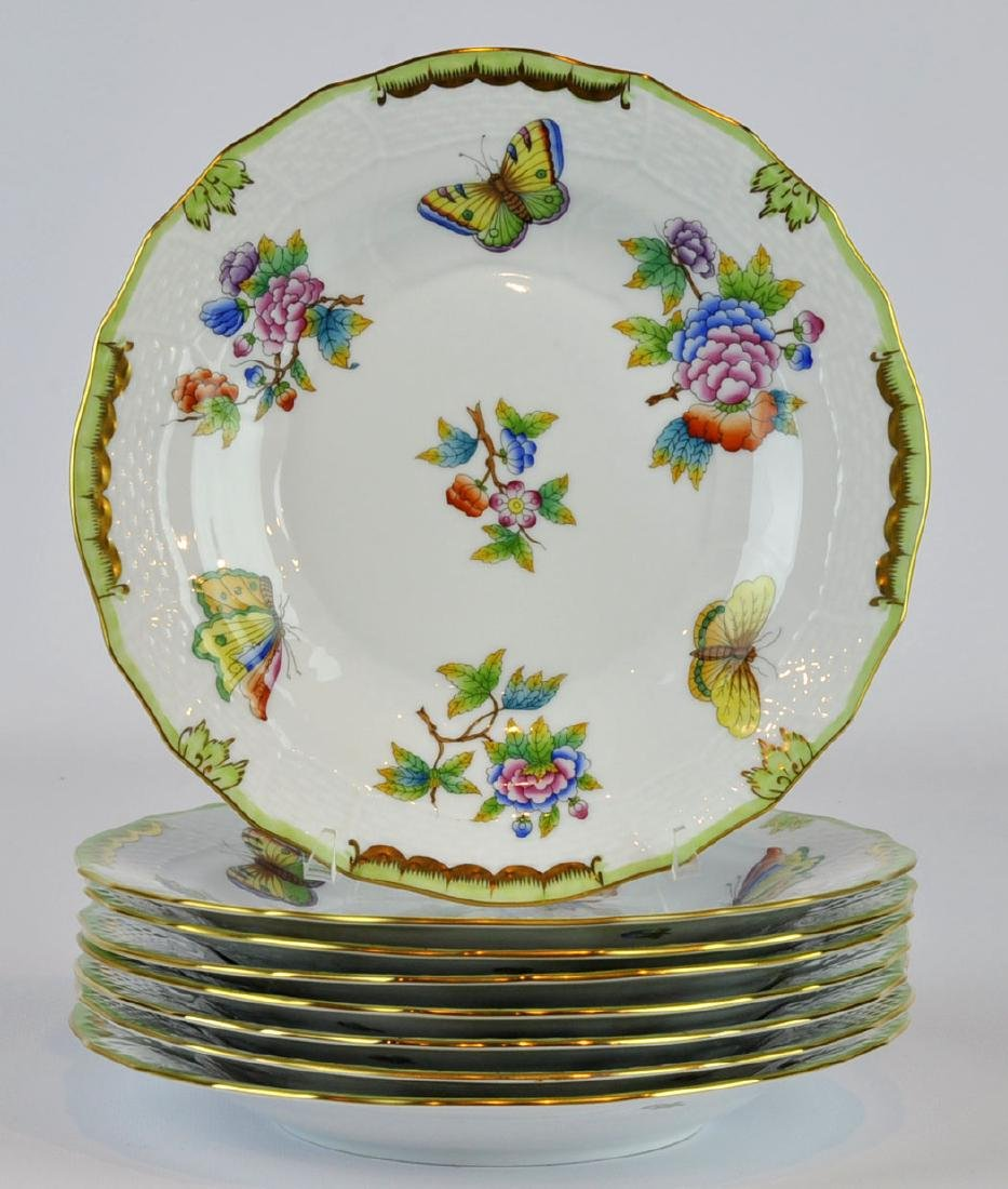 Herend Queen Victoria Dessert Plates #1520