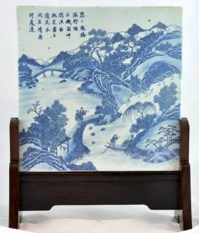 Chinese Porcelain Tile With Stand