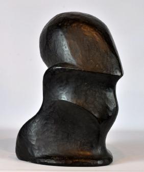 Gabriella Crespi Italian Bronze Sculpture My Soul