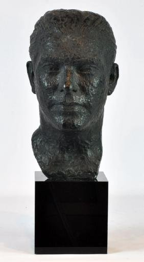 Bronze Bust Sculpture Valsuani Foundry