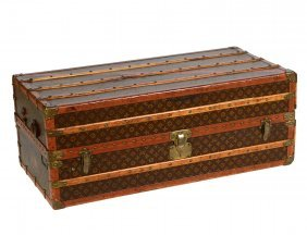 Louis Vuitton Wardrobe Trunk, Early 20th C.