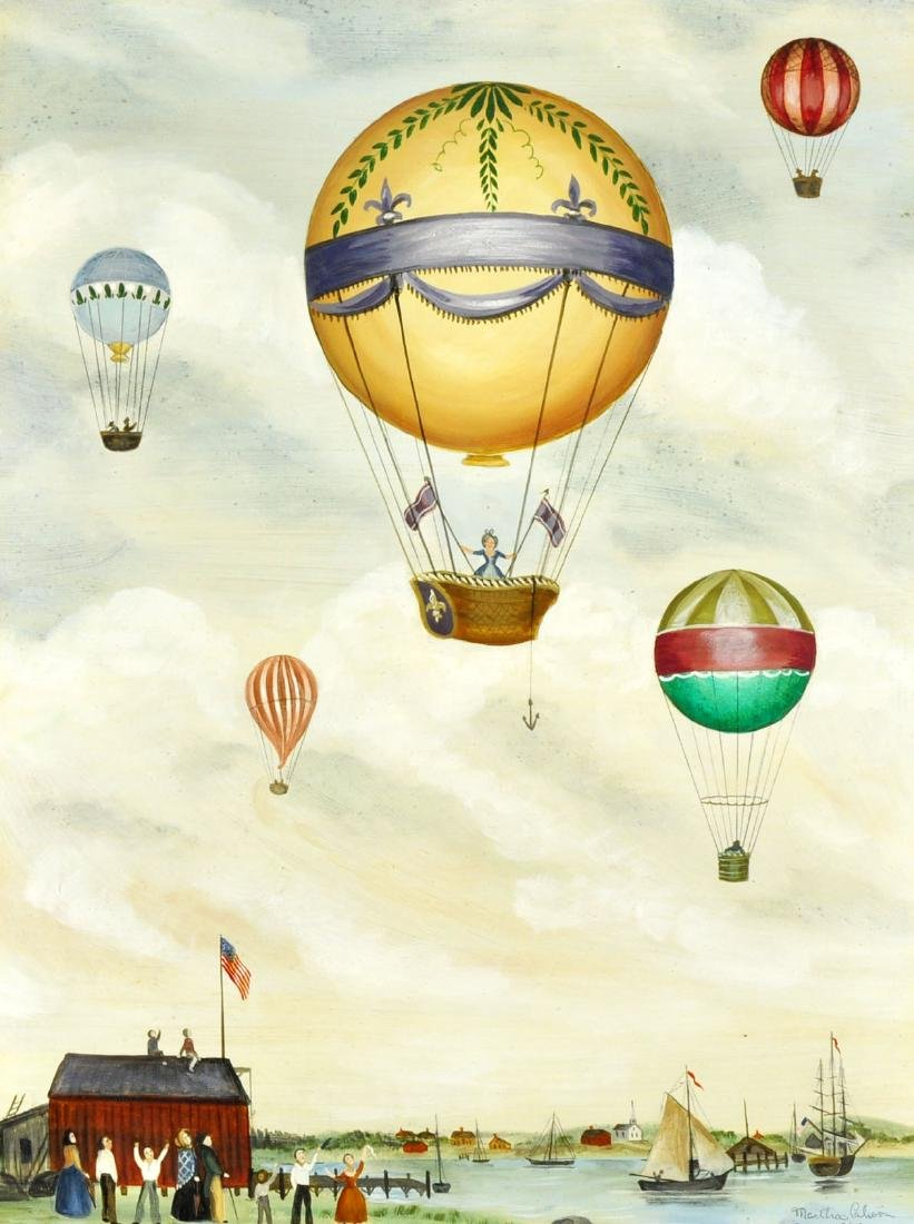 "Martha Cahoon ""Balloon Ride"" O/B"