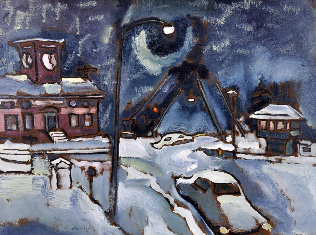 """Sterling Strauser """"Snowy Night"""" O/B"""